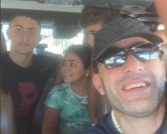 شاهد سيلفي أحمد السقا مع عائلته - البوابة