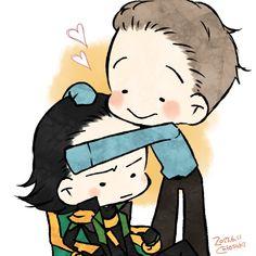 Tom & Loki ♡
