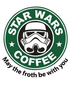 Star Wars ~~ I Drink To Much Coffee And Watch To Much Star Wars So This Logo Pretty Much Sums Up My Life♥️