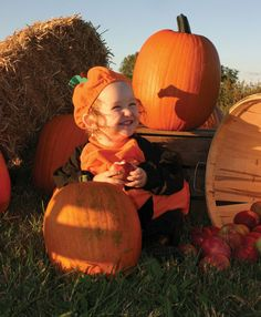 Visit a Pumpkin Patch Near You: As every kid knows, it's fun to pick out the perfect pumpkin(s) for your house. A Pumpkin, Pumpkin Carving, Durham Region, Vacation Trips, Road Trip, Kid, House, Child, Road Trips