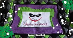Get your Joker crochet pattern in time to make for the holidays.  #myvictoriarose