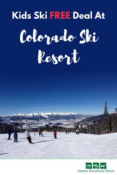 Ski Travel Hack - Book a ski vacation this winter where kids ski free! Find out which Keystone Resort hotels in Colorado offer this great money saving deal for a family ski trip and how you can take advantage of the kids ski free deal. Ski Vacation, Best Vacation Spots, Best Family Vacations, Family Vacation Destinations, Vacation Deals, Ski Deals, Vacation Packing, Packing Tips, Colorado Ski Resorts