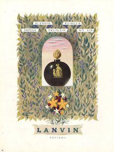 Arpege Lanvin Parfums, Jacques Nathan 1946