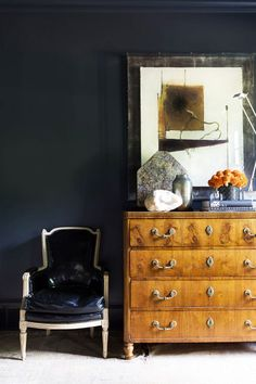 """How to Take Your Interior to the Dark Side: """"The Trick Is Not to Be Afraid"""""""