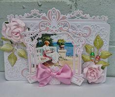 Marianne and heartfelt creations dies card.