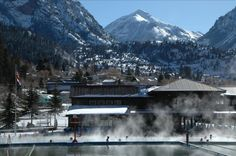 Check out the hot springs in Ouray, Colorado!