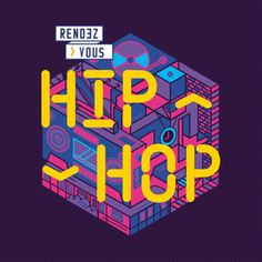 Rendez-vous Hiphop 2017 on Behance