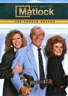 Andy Griffith's second enormous television hit, the southern-flavored legal drama MATLOCK, brought him back to television in 1986, around 18 years after THE ANDY GRIFFITH SHOW wrapped. He starred as B