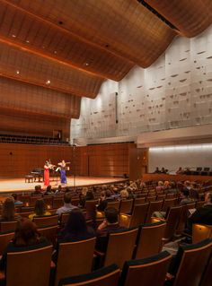 How Acoustic Engineering Perfected the Sound of Minnesota's Ordway Center Auditorium Architecture, Cultural Architecture, Theatrical Scenery, Cardboard Model, Visual And Performing Arts, Hall Design, Concert Hall, Building Design, Minnesota