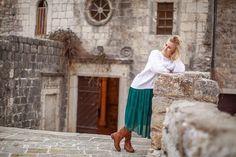 Фотосессия в Черногории в старом городе Будва