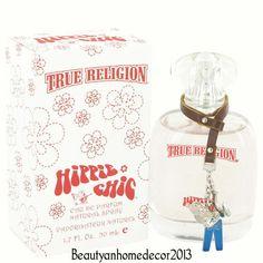 TRUE RELIGION HIPPIE CHIC 1.7 / 1.6 oz 50 ml WOMEN EDP PERFUME NEW IN BOX #TrueReligion