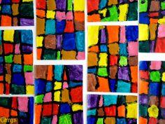 Le Journal de Chrys: Du quadrillage en maternelle