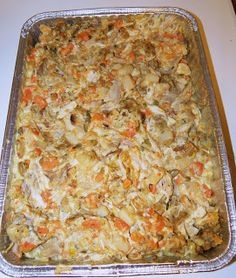 Perfectly Normal Chaos: Turkey Stuffing Casserole - 8 points