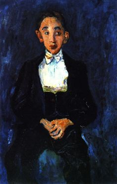 chaïm soutine(1894-1943), the musician, c. 1927. oil on canvas, 93 x 60 cm. private collection http://www.the-athenaeum.org/art/detail.php?ID=56697