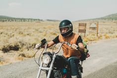 Highway vest, motorcycles, open road
