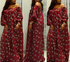 Off shoulder dress/african clothing Plus size dress/African clothing for women/maxi dress/loose dress/African dress/African clothing/ankara African Dresses For Women, African Print Dresses, African Attire, African Wear, African Women, African Prints, Ankara Styles For Women, African Fashion Ankara, Latest African Fashion Dresses