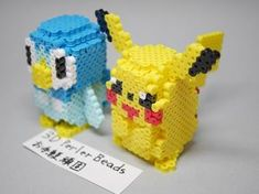 14 Best 3d Pokemon images in 2016 | Beading patterns, Hama