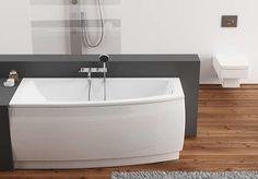 Krótka, asymetryczna wanna, w kształcie zbliżonym do trójkąta, zapewnia dużą powierzchnię kąpielową i doskonale sprawdzi się w małych łazienkach. Wanna ARCLINE marki Aquaform wykonana jest z wysokiej jakości akrylu, dzięki czemu jest antypoślizgowa, a jej właściwości termoizolacyjne pozwalają na długie kąpiele w stałej temperaturze wody.