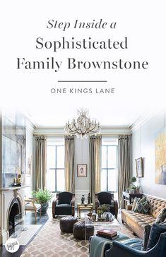 Take a virtual tour of interior designer Nina Farmer's gorgeous, family-friendly brownstone in Beacon Hill, Boston, here!