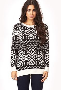 Easy Fair Isle Sweater | FOREVER 21