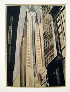 Edward Hopper (1882–Earle Horter (1881–1940) The Chrysler Building Under Construction, 1931