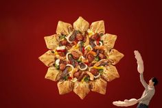 EUROPE-ASIA-PACIFIC & Глобальные Новости  : Корейская звездная пицца с десертом