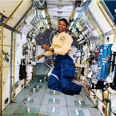 provocative-planet-pics-please.tumblr.com Day 1 Dr. Mae C. Jemison. One of the reasons why I love science. The first African American woman to travel in space when she went into orbit aboard the Space Shuttle Endeavour on September 12 1992. #celebrate #black #history #everyday #blackhistroy #blackhistorymonth #rbg #red #black #green #africanamerican #african #science #education #beauty #brains #space #spacescience #astronomy #planets #solarsystem #galaxy #milkyway #blackgirlsrock…