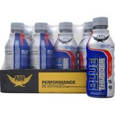 You're getting a lower bottom price! Buy 1-2-3-4 or more AMERICAN BODY BUILDING Blue Thunder RTD in 12 bottles & save #AMERICANBODYBUILDING