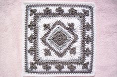 Lucky Charms WWBAMCAL square pattern by Donna Kay Lacey, Ravelry #crochet