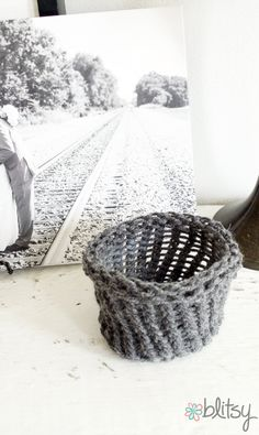 DIY Yarn Basket - th