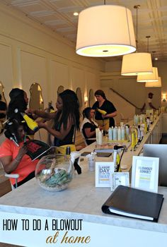 Learn how to do a blowout at home and get salon results #myblowout Living Proof #ad