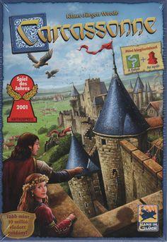 Carcassonne társasjáték - Szellemlovas társasjáték webshop