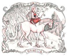 Kings Quest IV - Rosella by RanmaCMH.deviantart.com on @DeviantArt