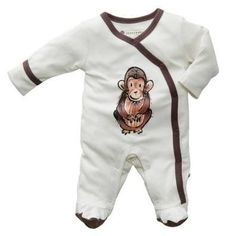 Janey Baby Chimp Organic Sleeper | A Mighty Girl