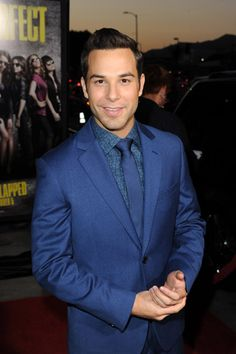 Skylar Astin from Pitch Perfect....I may be secretly in love with him.