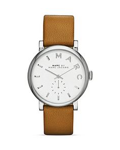 Similar watch as a present for my 27th Bday - MARC BY MARC JACOBS BAKER STRAP WATCH #marcjacobs
