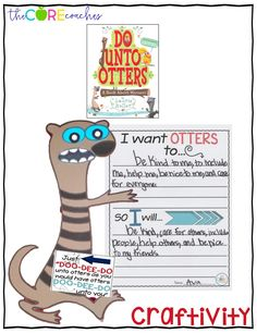 All about manners at school, a read-aloud for the beginning of the year, Do Unto Otters