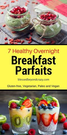 Although I tend to be a morning person, I still like to sleep as late as possible before rolling out of bed. Once I'm up, I love a simple, yet nourishing breakfast to help me get going. That's why these 7 Healthy Overnight Breakfast Parfaits are quickly becoming favorite staples in my home. They are …