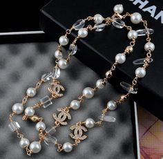 necklace CHANEL Free shipping