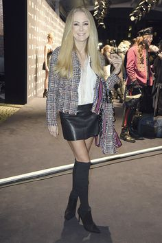 Jenny Elvers attends Riani Fashion Show - Berlin Fashion Week