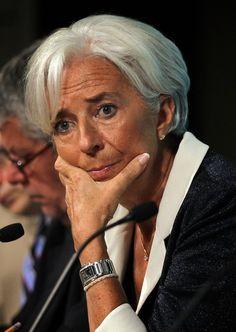 Christine Lagarde Photos: IMF Managing Director Christine Lagarde Holds News Conf. On U.S. Economy