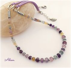 Fluorite and Haematite Necklace, Gift Boxed £17.95