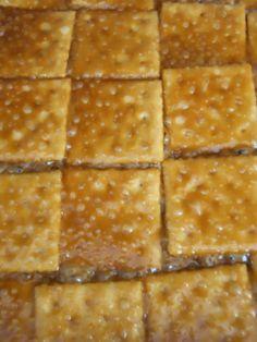 paula deen saltine cracker candy | call it cracker candy. You can call it crack candy if you like.