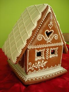 Gingerbread House designed by an artist in Czech...poslední chaloupka