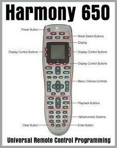 b79fa6295aa Logitech Harmony Elite All in One Remote Control, Universal Remote ...