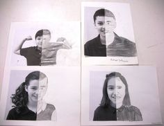 Great idea to learn about drawing what they see and shading/value (5th grade)