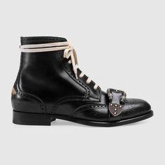 3454c4f03436f GUCCI Queercore brogue boot.  gucci  shoes  men s boots Black Brogue Boots