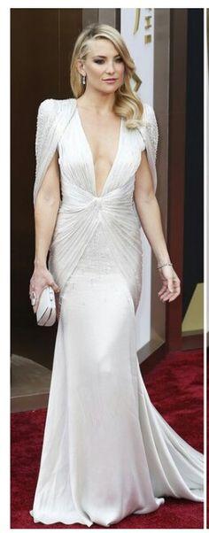 Kate Hudson in Versace @ 2014 Oscars