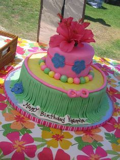 Hawaiian Luau Birthday Party Ideas Luau Hawaiian luau and Luau cakes