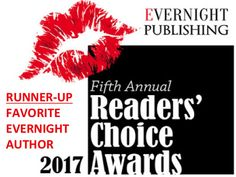 RUNNER-UP - Favorite Evernight Author - Readers' Choice Awards 2017